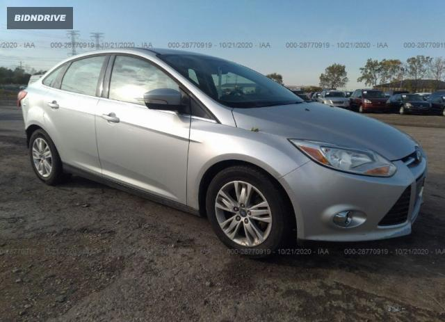 Lot #1618032661 2012 FORD FOCUS SEL salvage car