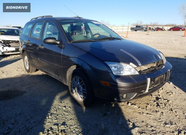 Lot #1618202721 2007 FORD FOCUS ZXW salvage car