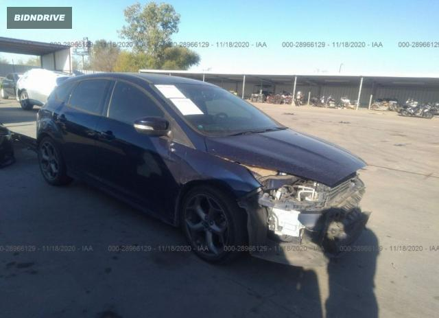 Lot #1618535041 2016 FORD FOCUS ST salvage car