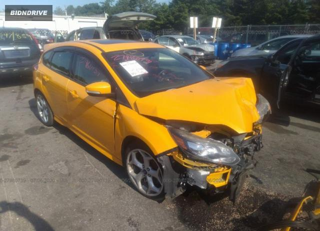 Lot #1618535231 2013 FORD FOCUS ST salvage car