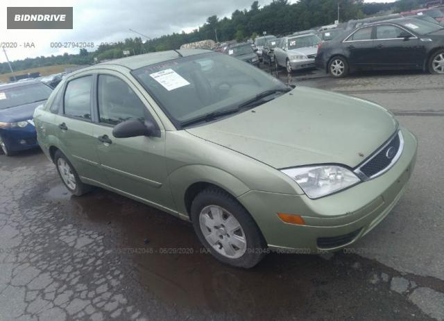 Lot #1618535464 2007 FORD FOCUS S/SE/SES salvage car
