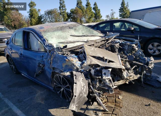 Lot #1621393371 2019 TOYOTA CAMRY L salvage car