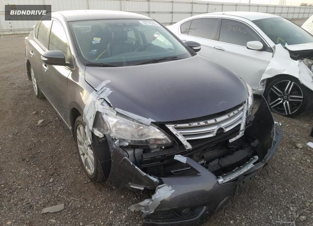 Lot #1621440227 2015 NISSAN SENTRA S salvage car