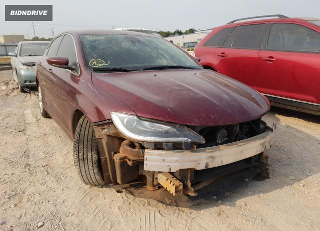 Lot #1622952244 2016 CHRYSLER 200 LIMITE salvage car