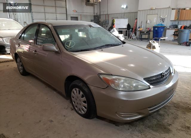 Lot #1624891487 2002 TOYOTA CAMRY LE salvage car