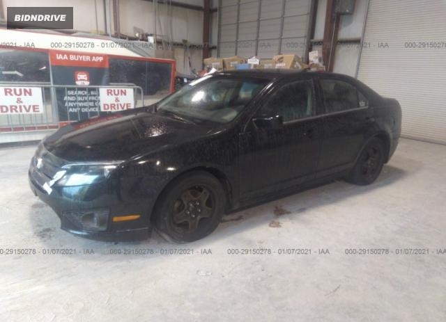 Lot #1625152547 2011 FORD FUSION SE salvage car