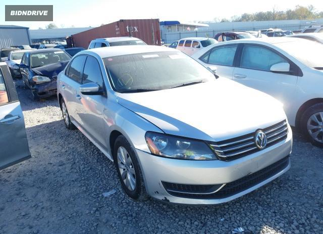 Lot #1625844537 2015 VOLKSWAGEN PASSAT S salvage car