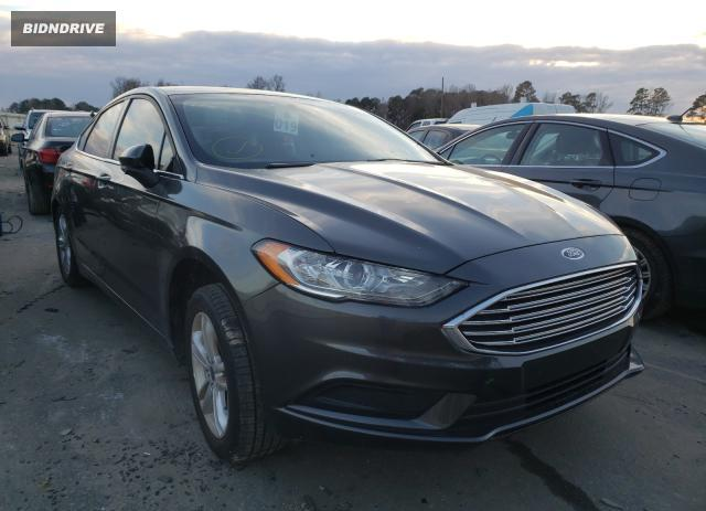 Lot #1629105647 2018 FORD FUSION SE salvage car