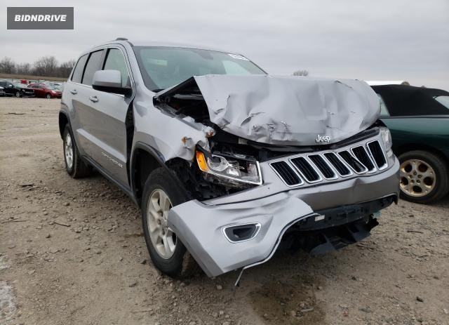 Lot #1629533377 2016 JEEP GRAND CHER salvage car