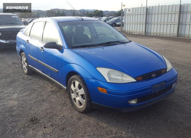 Lot #1632199917 2001 FORD FOCUS SE salvage car
