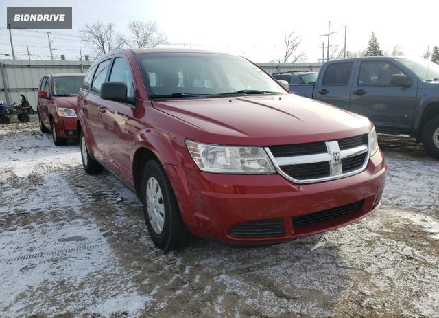 Lot #1632711051 2010 DODGE JOURNEY SE salvage car