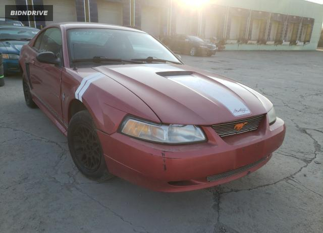 Lot #1633138977 2001 FORD MUSTANG salvage car