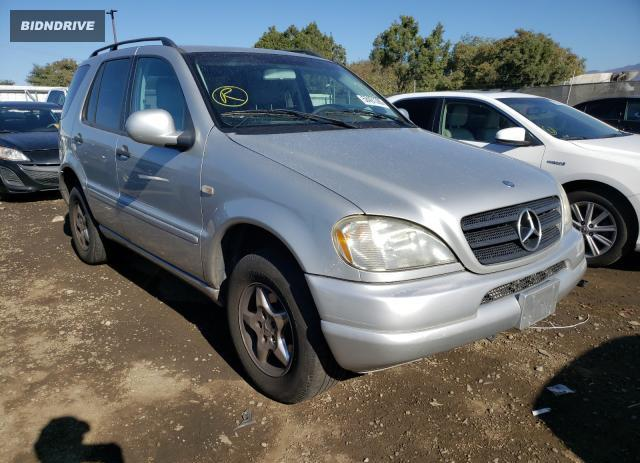 Lot #1633208871 2000 MERCEDES-BENZ ML 320 salvage car