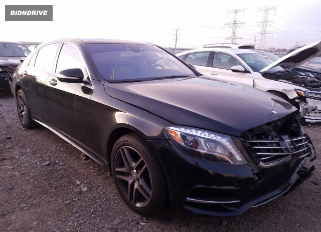 Lot #1633262797 2015 MERCEDES-BENZ S 550 4MAT salvage car