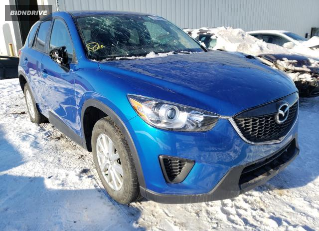 Lot #1636136711 2014 MAZDA CX-5 SPORT salvage car