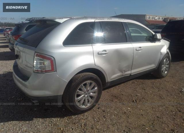 Lot #1636445934 2010 FORD EDGE LIMITED salvage car