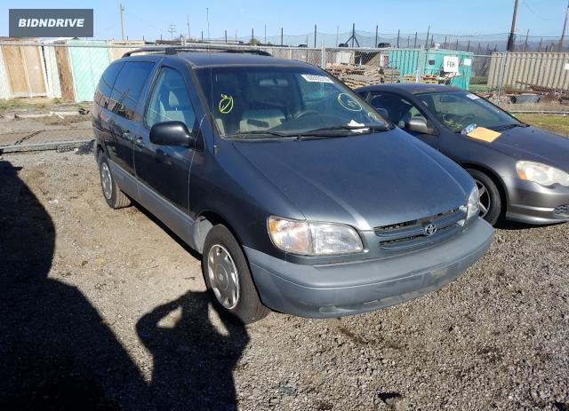 Lot #1636590234 1998 TOYOTA SIENNA LE salvage car