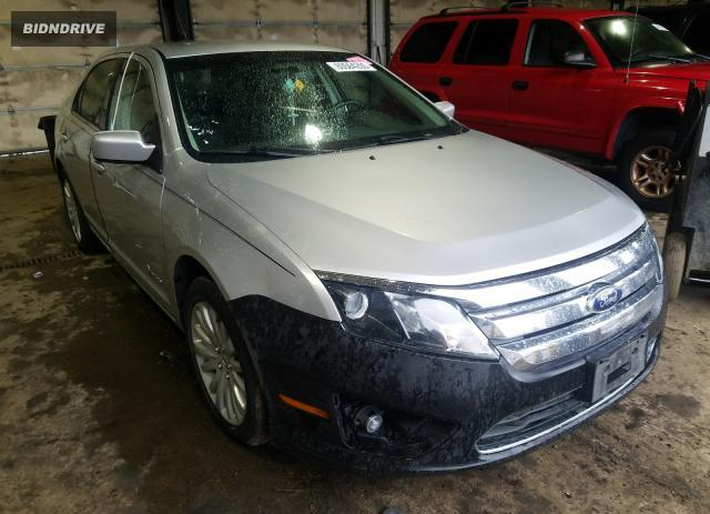 Lot #1636615217 2011 FORD FUSION HYB salvage car
