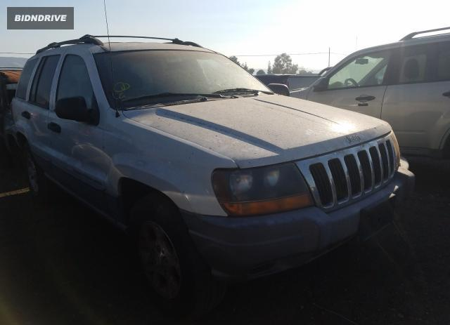 Lot #1637015351 2000 JEEP GRAND CHER salvage car