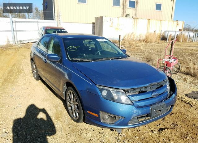 Lot #1637475444 2010 FORD FUSION SE salvage car