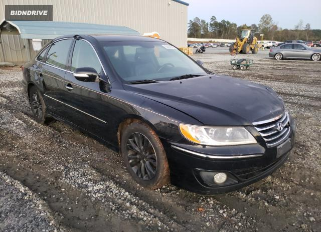 Lot #1637606741 2011 HYUNDAI AZERA GLS salvage car