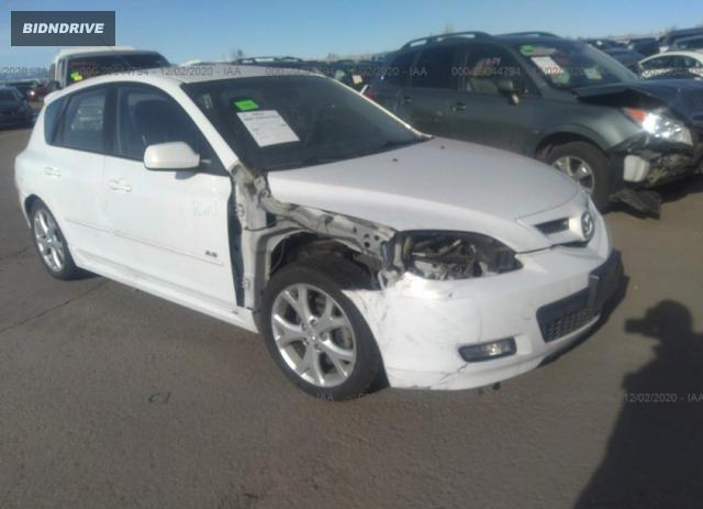 Lot #1637930281 2008 MAZDA MAZDA3 S TOURING salvage car