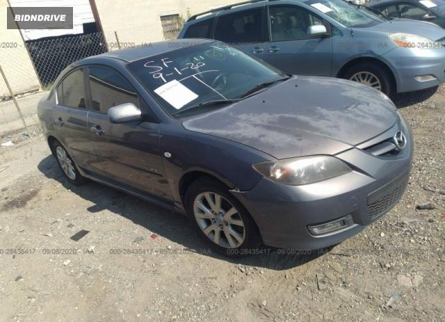 Lot #1637930284 2008 MAZDA MAZDA3 S SPORT salvage car