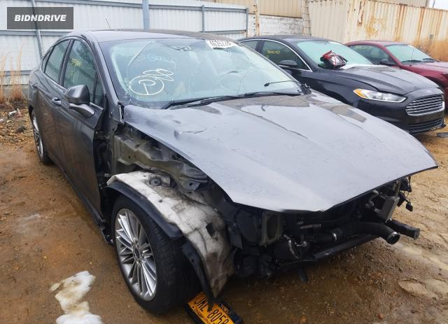 Lot #1637971231 2014 FORD FUSION SE salvage car
