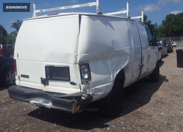 Lot #1638001227 2008 FORD ECONOLINE salvage car