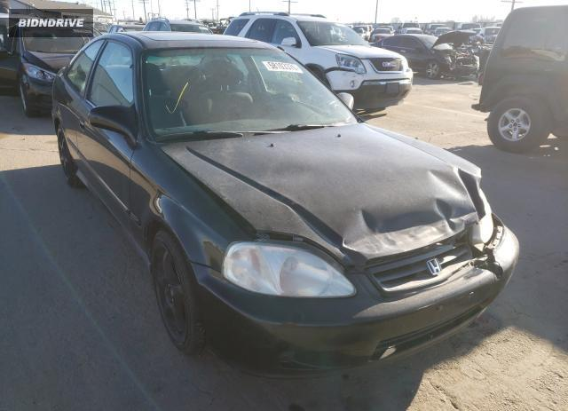 Lot #1639147171 2000 HONDA CIVIC EX salvage car