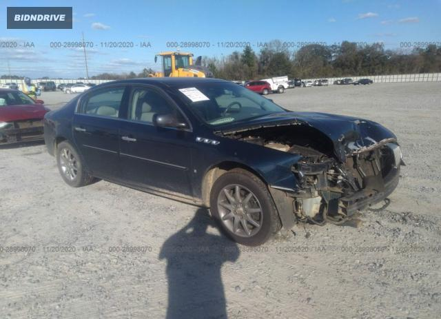 Lot #1639428764 2007 BUICK LUCERNE V6 CXL salvage car