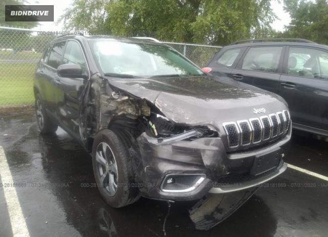 Lot #1639481814 2019 JEEP CHEROKEE LIMITED salvage car