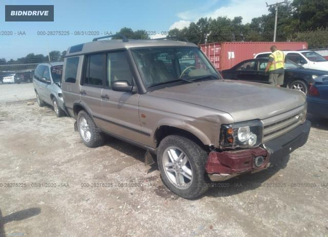 Lot #1639485321 2003 LAND ROVER DISCOVERY SE salvage car