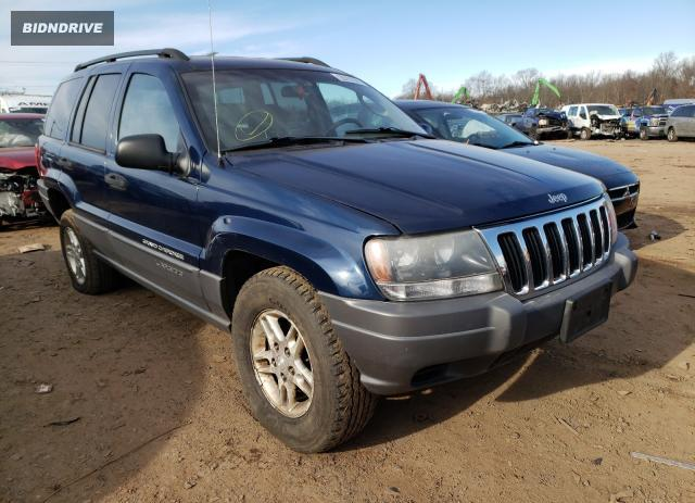 Lot #1639533754 2002 JEEP GRAND CHER salvage car