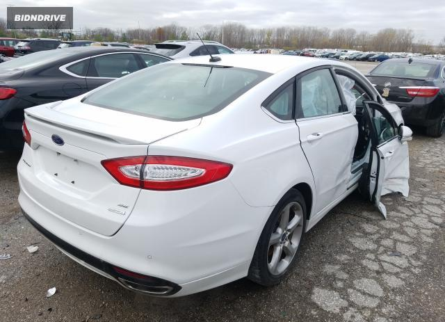 Lot #1639568757 2016 FORD FUSION SE salvage car