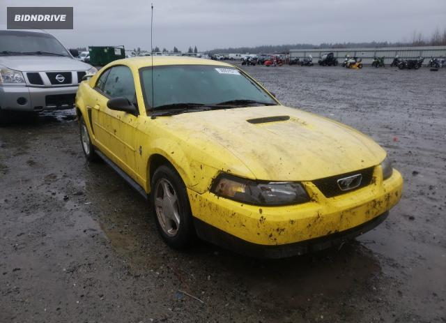 Lot #1639578814 2002 FORD MUSTANG salvage car