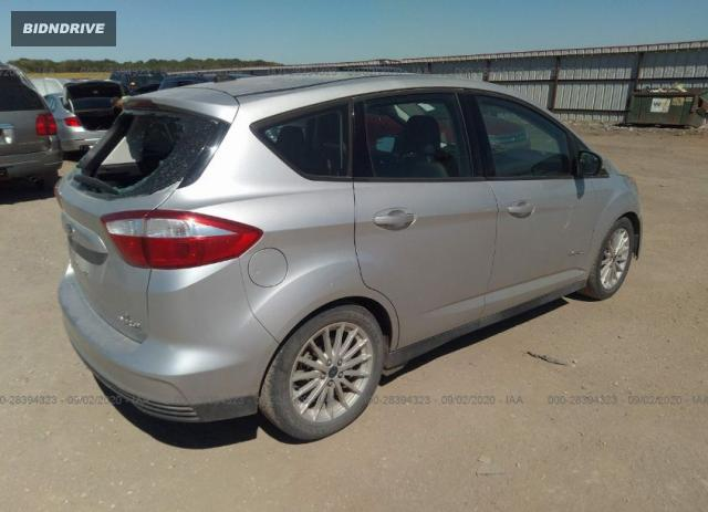 Lot #1639957857 2015 FORD C-MAX HYBRID SE salvage car