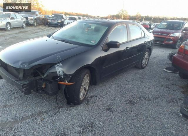 Lot #1639962684 2008 FORD FUSION SE salvage car