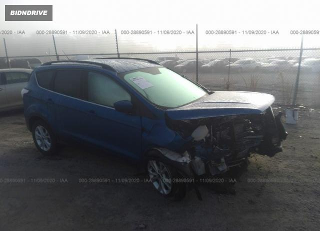 Lot #1640453707 2017 FORD ESCAPE SE salvage car
