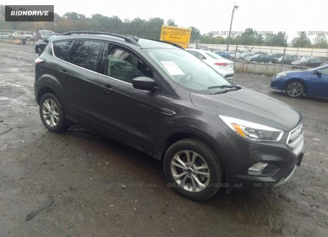 Lot #1640453721 2018 FORD ESCAPE SE salvage car