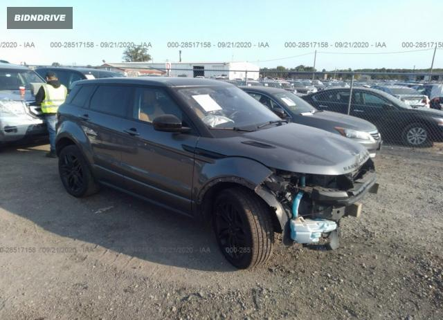 Lot #1640473534 2018 LAND ROVER RANGE ROVER EVOQUE HSE DYNAMIC salvage car