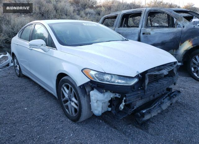 Lot #1640587657 2016 FORD FUSION SE salvage car