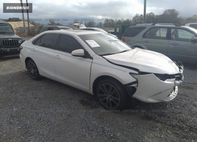 Lot #1641022207 2016 TOYOTA CAMRY LE/XLE/SE/XSE salvage car