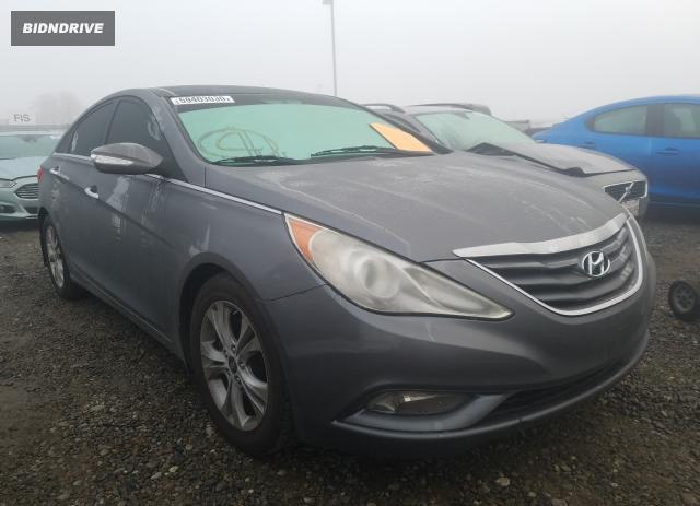 Lot #1641152901 2012 HYUNDAI SONATA SE salvage car