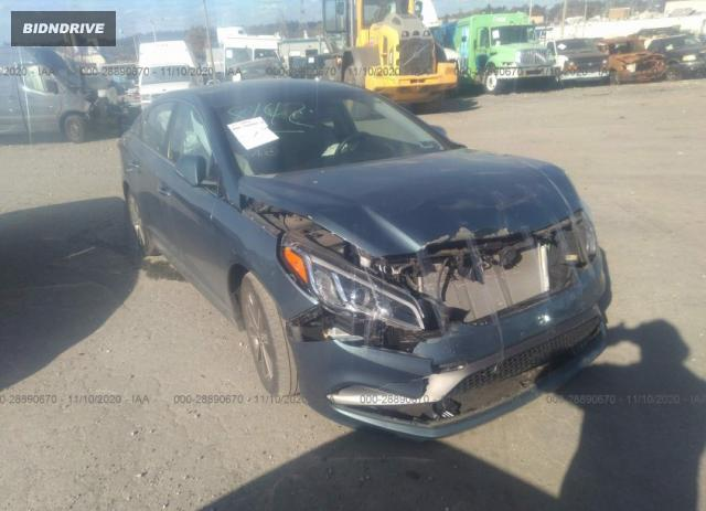 Lot #1641519114 2015 HYUNDAI SONATA 2.4L SPORT salvage car
