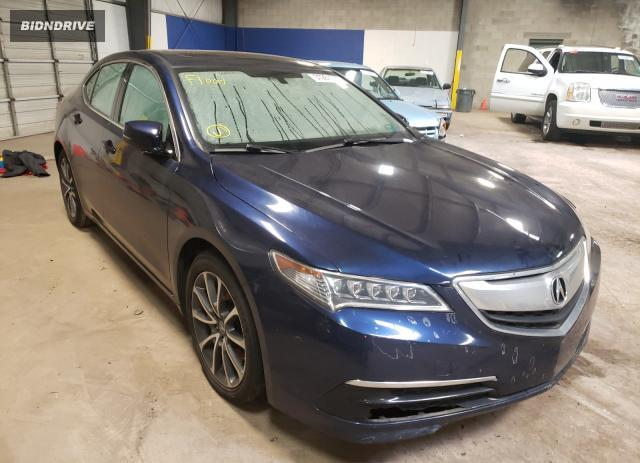 Lot #1654420584 2015 ACURA TLX salvage car