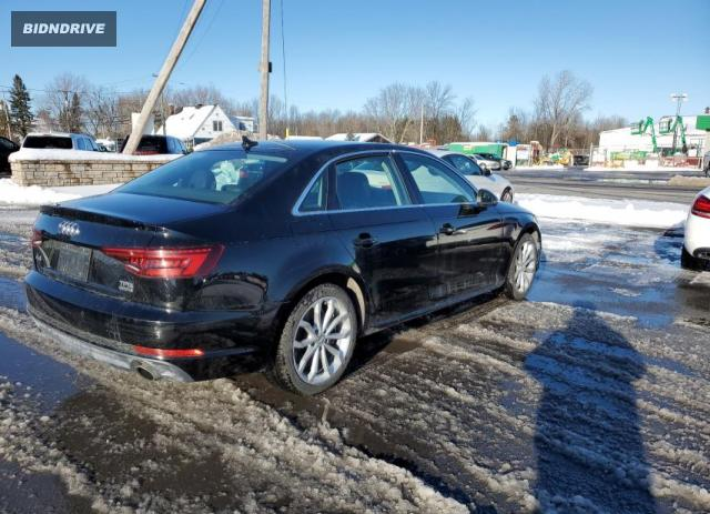 Lot #1654897817 2018 AUDI A4 PROGRES salvage car