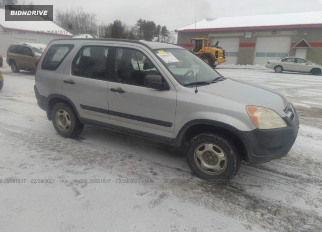 Lot #1657760801 2003 HONDA CR-V LX salvage car