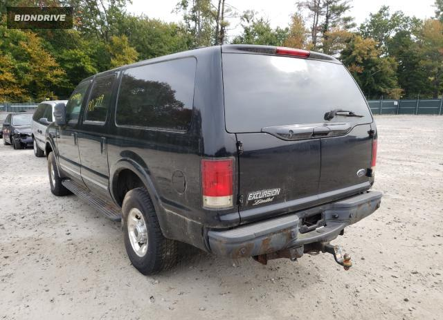 Lot #1658362507 2003 FORD EXCURSION salvage car