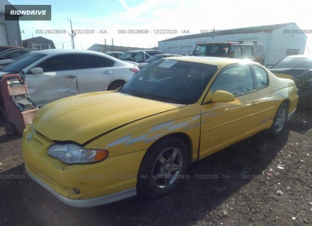 Lot #1659630291 2002 CHEVROLET MONTE CARLO SS salvage car